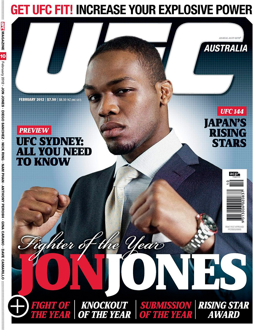 UFC Australia - Jon Jones Cover